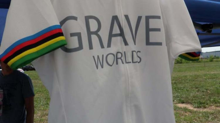 The official unofficial rainbow jersey ©Pirate Cycling League