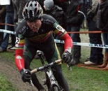 A tangle with Albert and another crash couldn't keep Nys from winning Azencross yet again. ? Bart Hazen