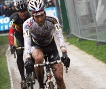 Albert showed his strength but couldn't match Nys' skills in the mud. 2009 Azencross - Loenhout GVA Trofee Series. ? Bart Hazen