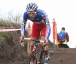 Emilien Viennet was a favorite and didn't disappoint to win the Junior European Cyclocross Championships.  ©Bart Hazen