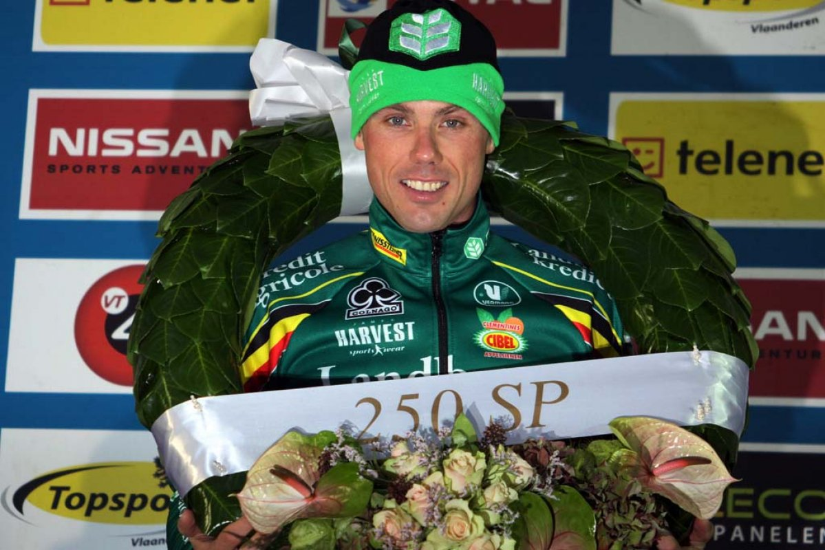 Nys' win came at the 250th Superprestige race. © Bart Hazen