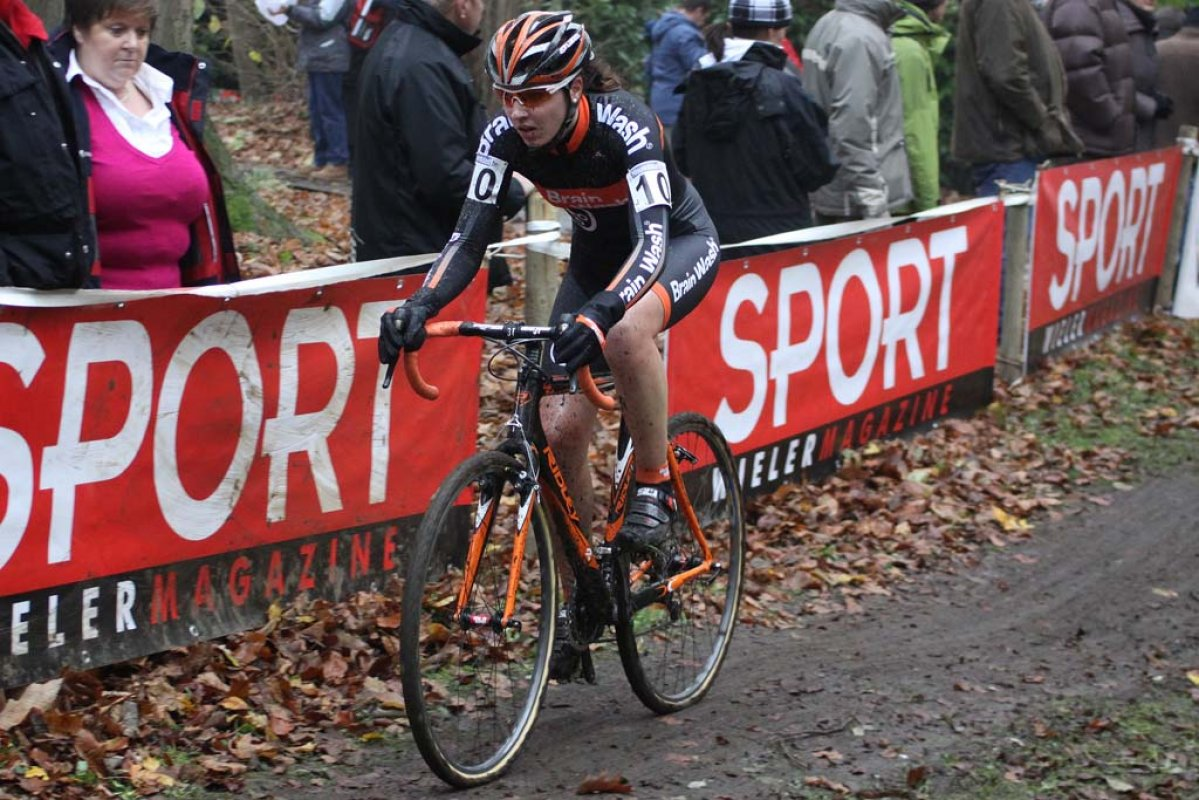Sabrina Stultiens finished seventh in Asper-Gavere. © Bart Hazen