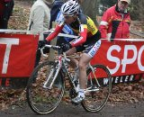 Sanne Cant continues to rise through the ranks with a 4th in Aspere-Gavere. © Bart Hazen
