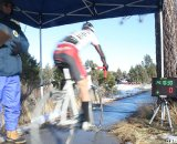 The time trial is underway. © Cyclocross Magazine