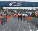 USA Cycling officials clear the way. Cyclocross Nationals Day 2 © Janet Hill