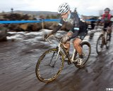 Riders faced tough conditions in Bend. © Cyclocross Magazine