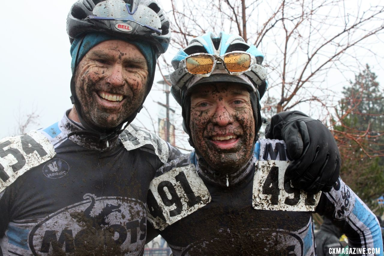 The Moots teammates of Cariveau and Robson. © Cyclocross Magazine