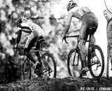 McDonald was at the front of all the technical sections. U23 Race, 2010 Cyclocross National Championships © Joe Sales