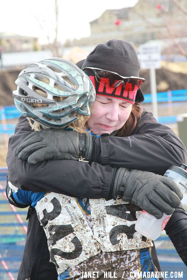 The only constant at Nationals is joy and disappointment among riders. © Janet Hill