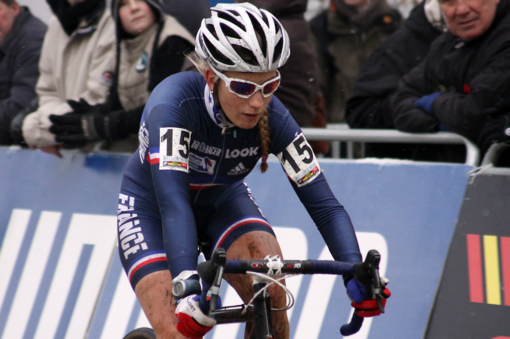 The surprising Pauline Ferrand-Prevot from France (6th) ©Bart Hazen