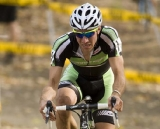 Jeremy Powers pushes the pace in the heat © Greg Sailor – VeloArts