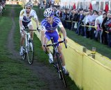Aernouts battled Stybar until late in the race © Bart Hazen