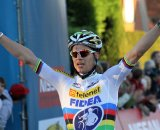 Stybar posts up the win © Bart Hazen