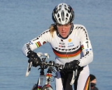 Hanka Kupfernagel on her way to victory.
