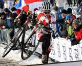 Canada's Jared Stafford was the last rider to be lapped.2010 U23 Cyclocross World Championships. ? Bart Hazen