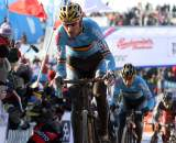 Klaas Vantornout rode an aggressive, consistent race to nab second ? Bart Hazen