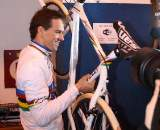 Stybar's brand new World Champ edition Ridley ? Dan Seaton