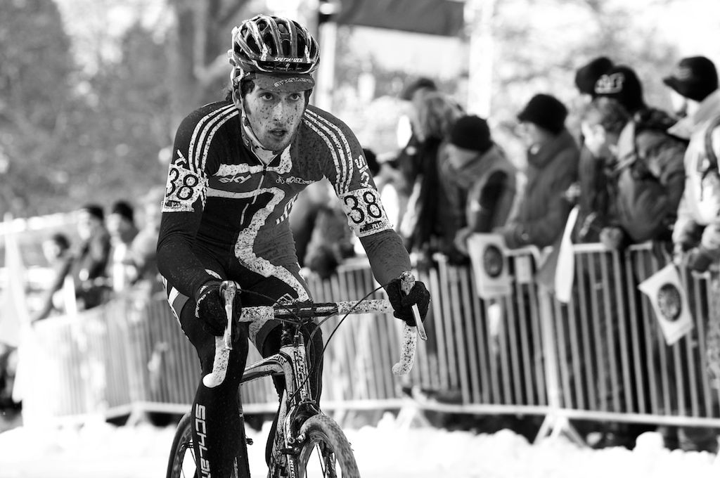 Ian Field was Great Britain's top finisher at the 2010 Cyclocross World Championships in Tabor, Czech Republic.  ? Joe Sales