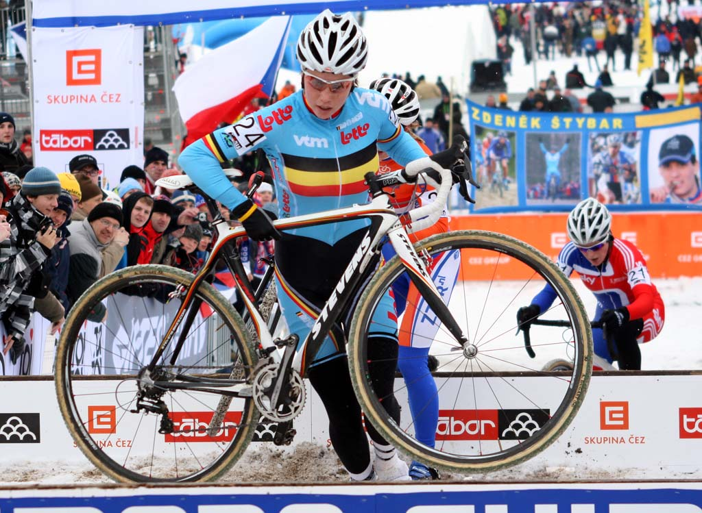 Sanne Cant finished 15 at the World Championshps in Tabor. ? Bart Hazen