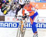 Vos attacked the course to take her third world title. ? Joe Sales