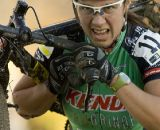 Rebecca Blatt, #11, (Team Kenda presented by Geargrinder) has her game face on during the Women's Elite race. © Greg Sailor - VeloArts.com