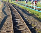 Train of riders, train tracks. © Cyclocross Magazine287