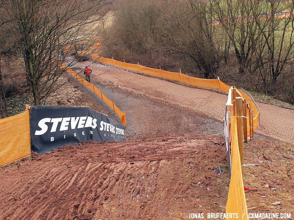 A few steeps ups will add to the challenge of the fast course.