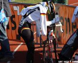Sabrina Schweizer gave it her all in front of her German fans