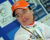 Marianne Vos at the press conference