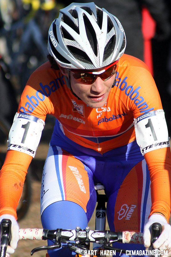 Marianne Vos was cool, calm and collected.