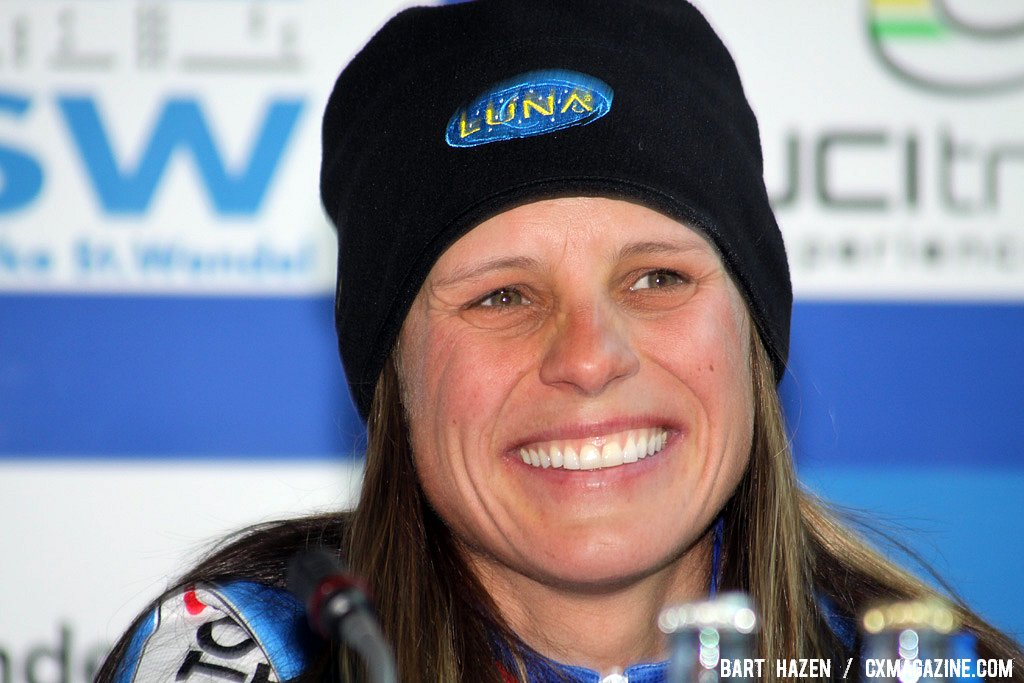 Katerina Nash was very happy with her first-ever Worlds medal after finishing fourth last year.