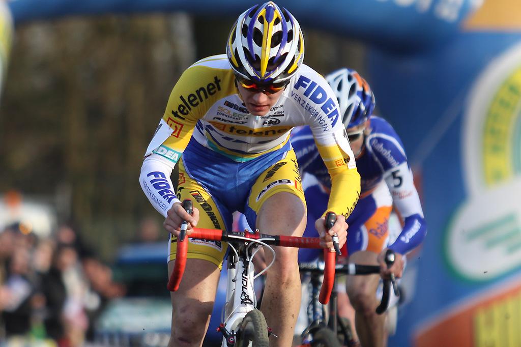 Defending champion Corne van Kessel. © Bart Hazen
