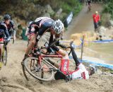 Some had less luck with the sand © Natalia Boltukhova | Pedal Power Photography | 2011