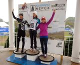 The Women's Podium: Duke, Wyman, Day © Natalia Boltukhova | Pedal Power Photography | 2011