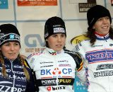 The final podium of the GVA: winner Sanne Cant, Daphny van den Brand and Helen Wyman.