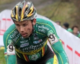 Sven Nys took a third place after revovering from illness. © Bart Hazen