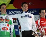 Junior podium; Laurens Sweeck, Daniel Peeters and Lars Förster.