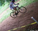Helen Wyman on one of the steep uphills. © Cyclocross Magazine