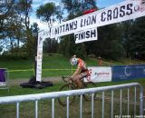 Joyce Vanderbeeken finished in second. © Cyclocross Magazine