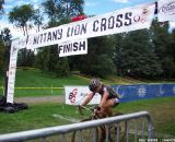 Laura Van Gilder finishing in third. © Cyclocross Magazine