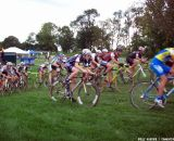 The men starting. © Cyclocross Magazine