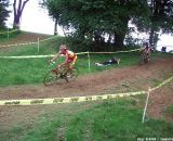 Field taking the downhill. © Cyclocross Magazine
