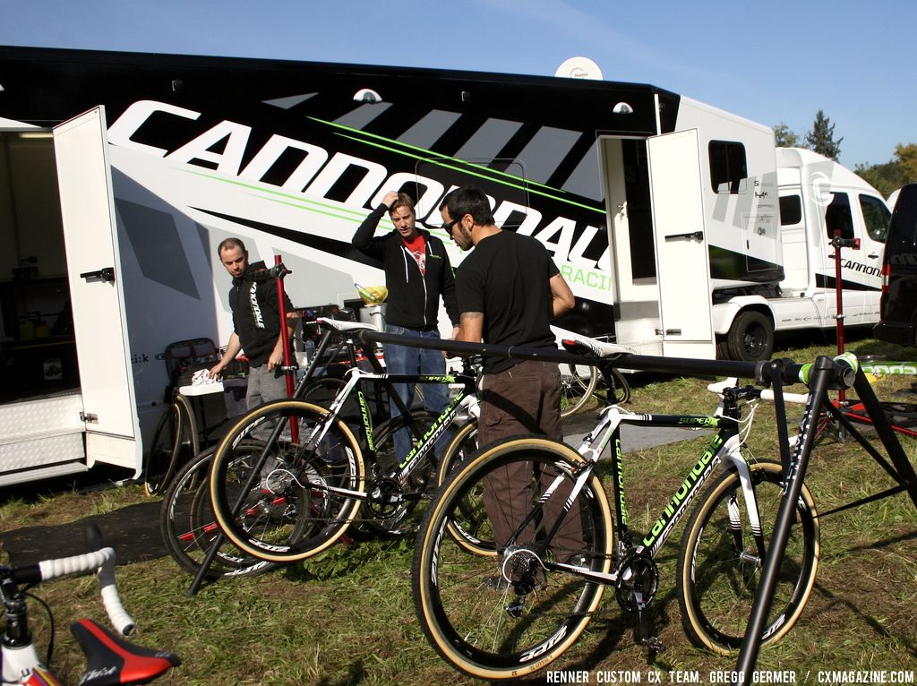 The Cannondale Truck. © Renner Custom CX Team, Gregg Germer