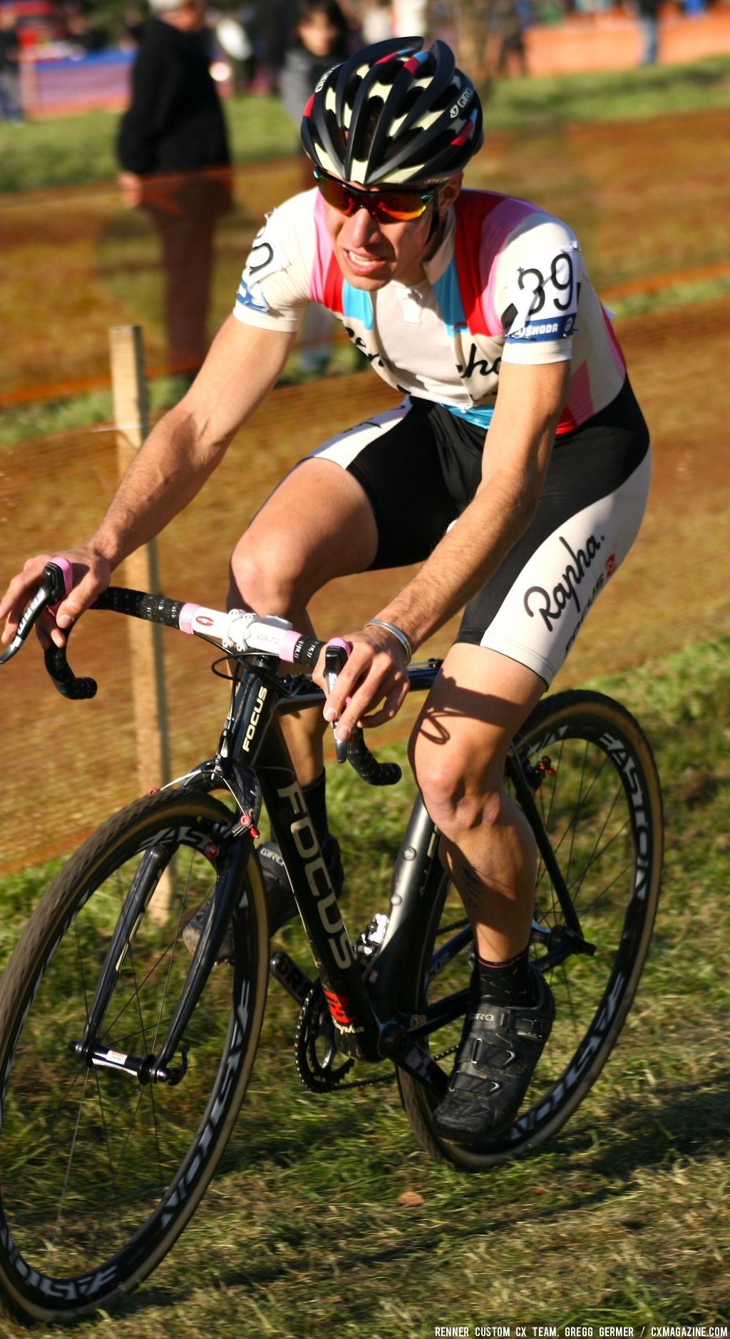 Powers rode among the heads of state to nab a top-10. © Renner Custom CX Team, Gregg Germer