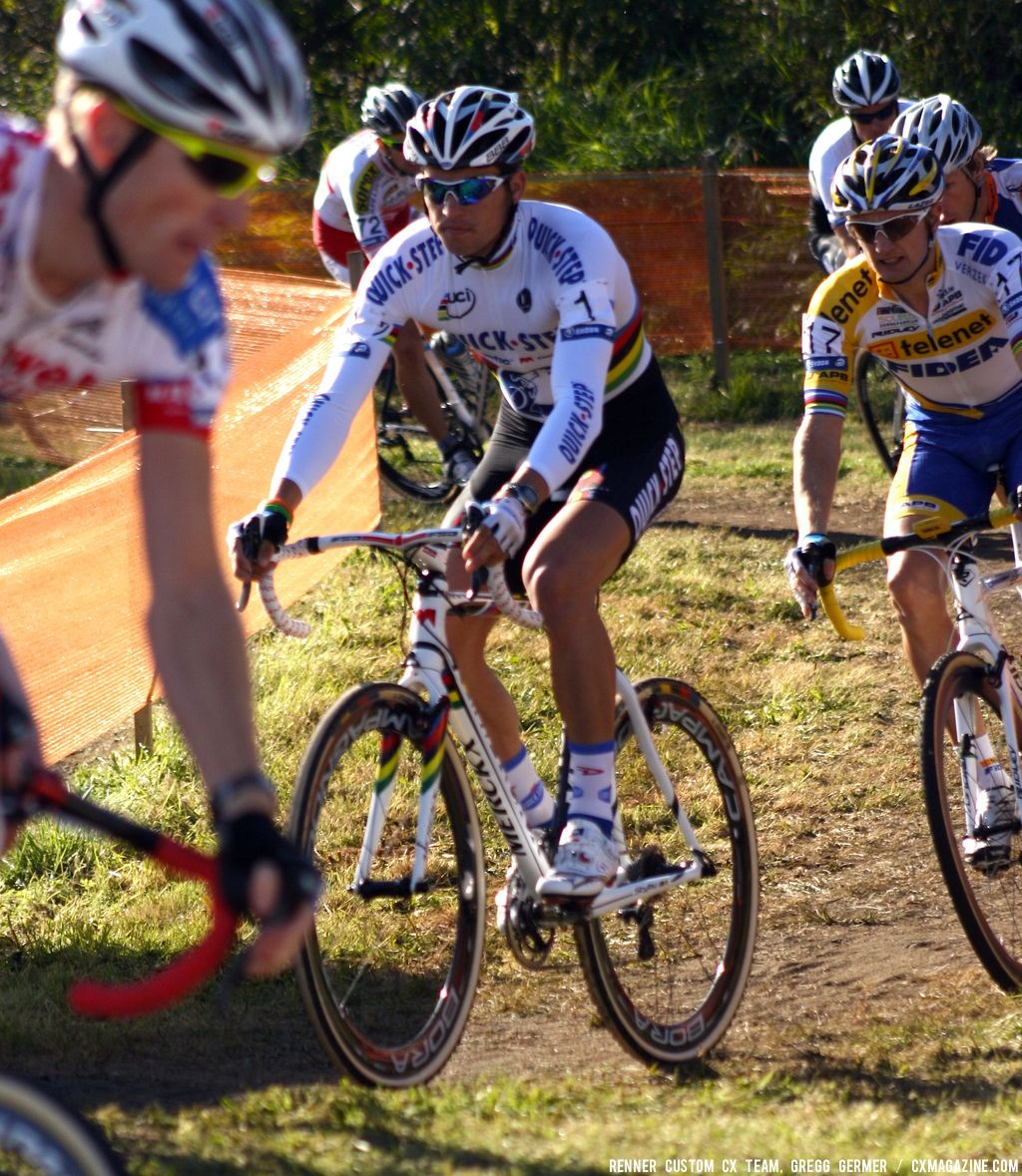 Stybar was an animator early in the race. © Renner Custom CX Team, Gregg Germer