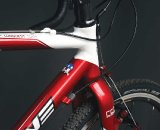 The headtube junction and integrated FSA headset. courtesy Redline Bicycles