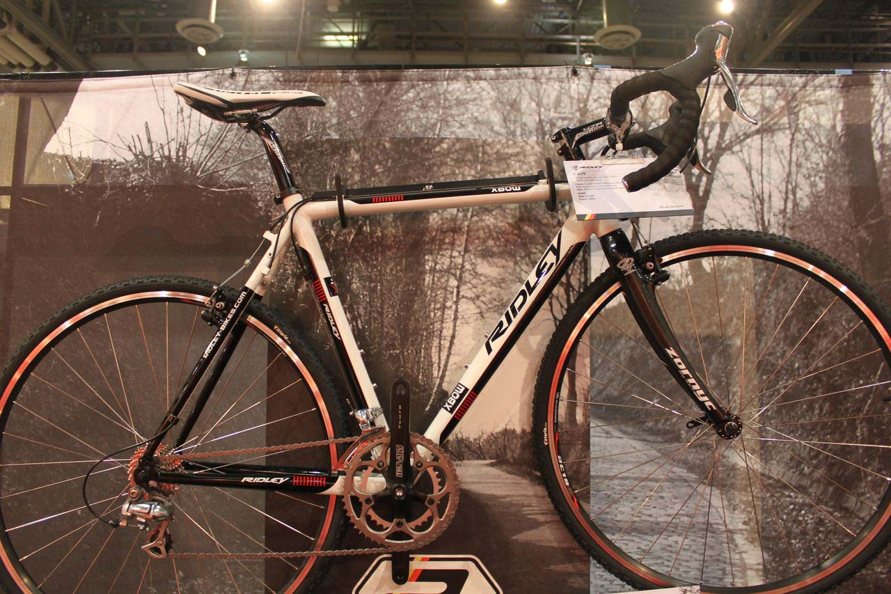 2011 Ridley X-Bow is the Tiagra-equipped, entry level model from Ridley. © Cyclocross Magazine