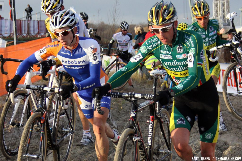 Two champions together Lars van der Haar and Sven Nys © Bart Hazen