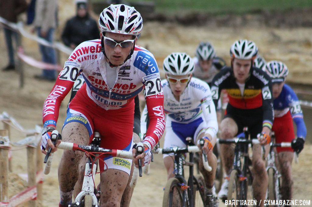 Yesterday\'s winner in the GVA race in Lille Jim Aernouts