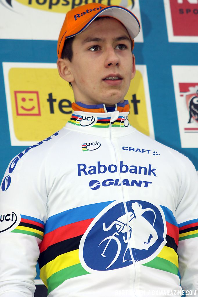 World Champion Lars van der Haar remains in the overall lead of the Superprestige Series